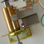 SOLENOID W: MICRO SWITCH & MOUNTING BRACKET